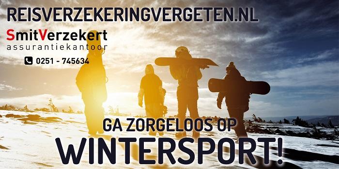 SmitVerzekert Reisverzekering Wintersport